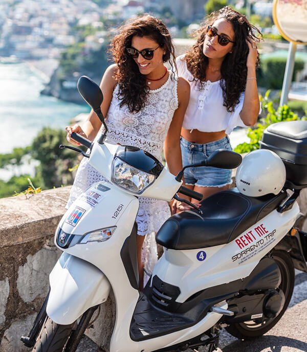 Tour in scooter