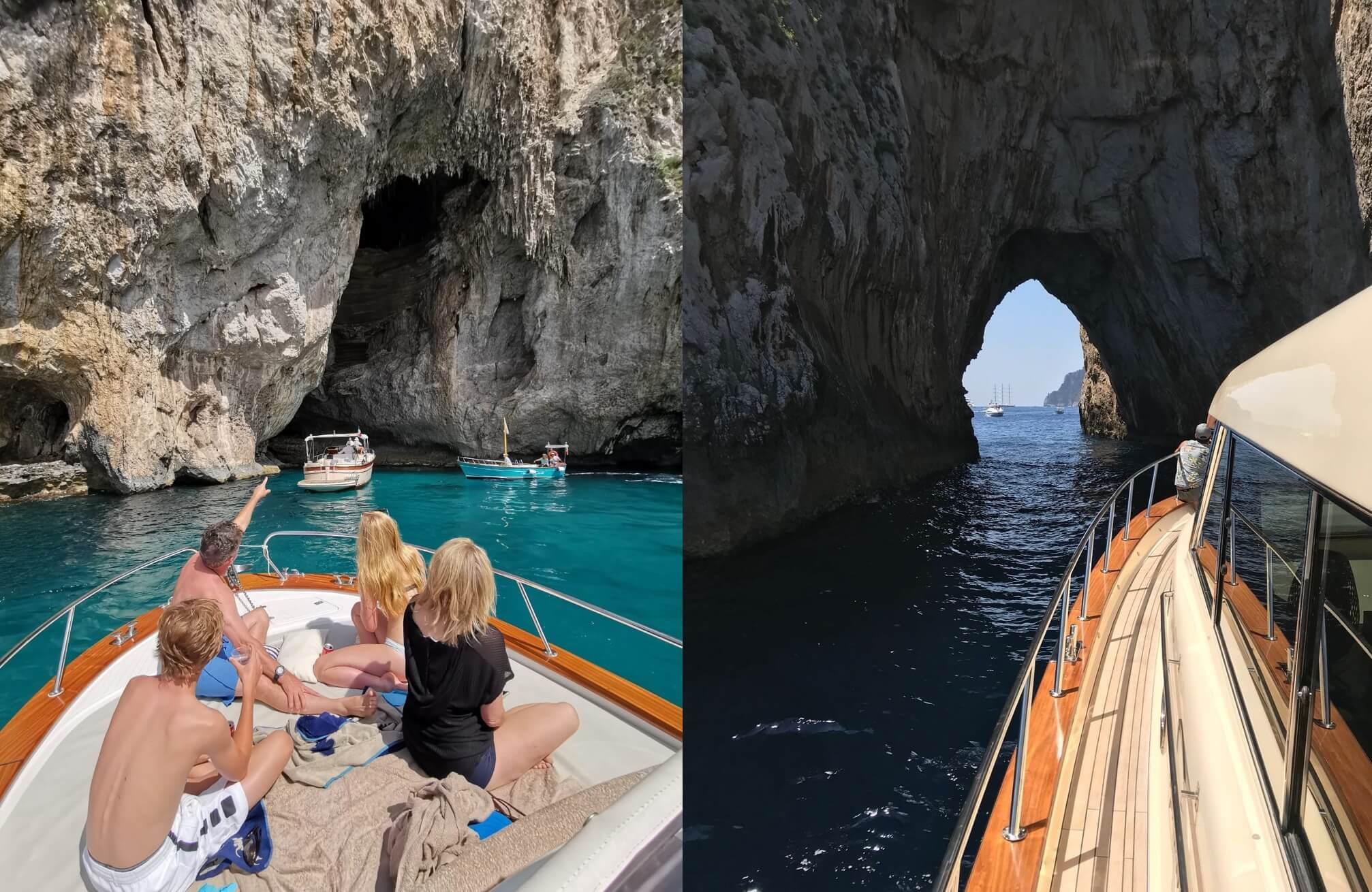 Come organizzare un'escursione in barca in Costiera Amalfitana