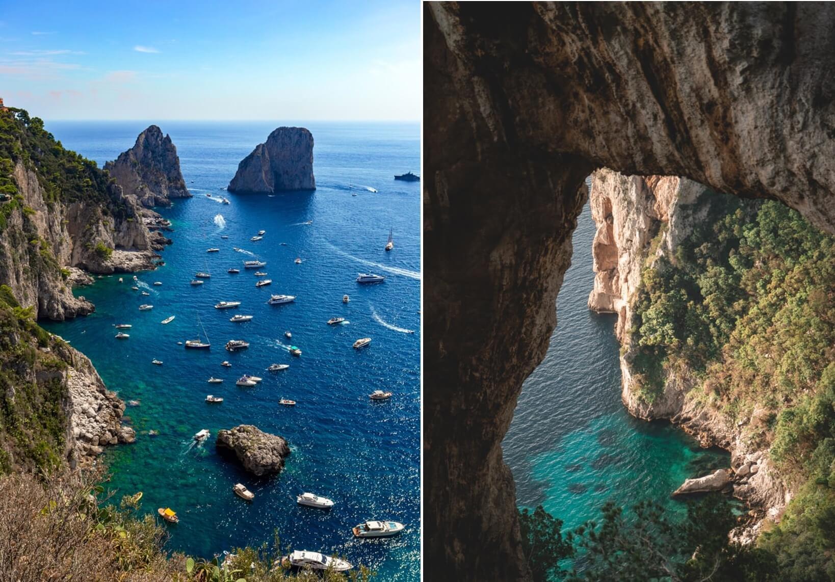 Giro in barca a Capri
