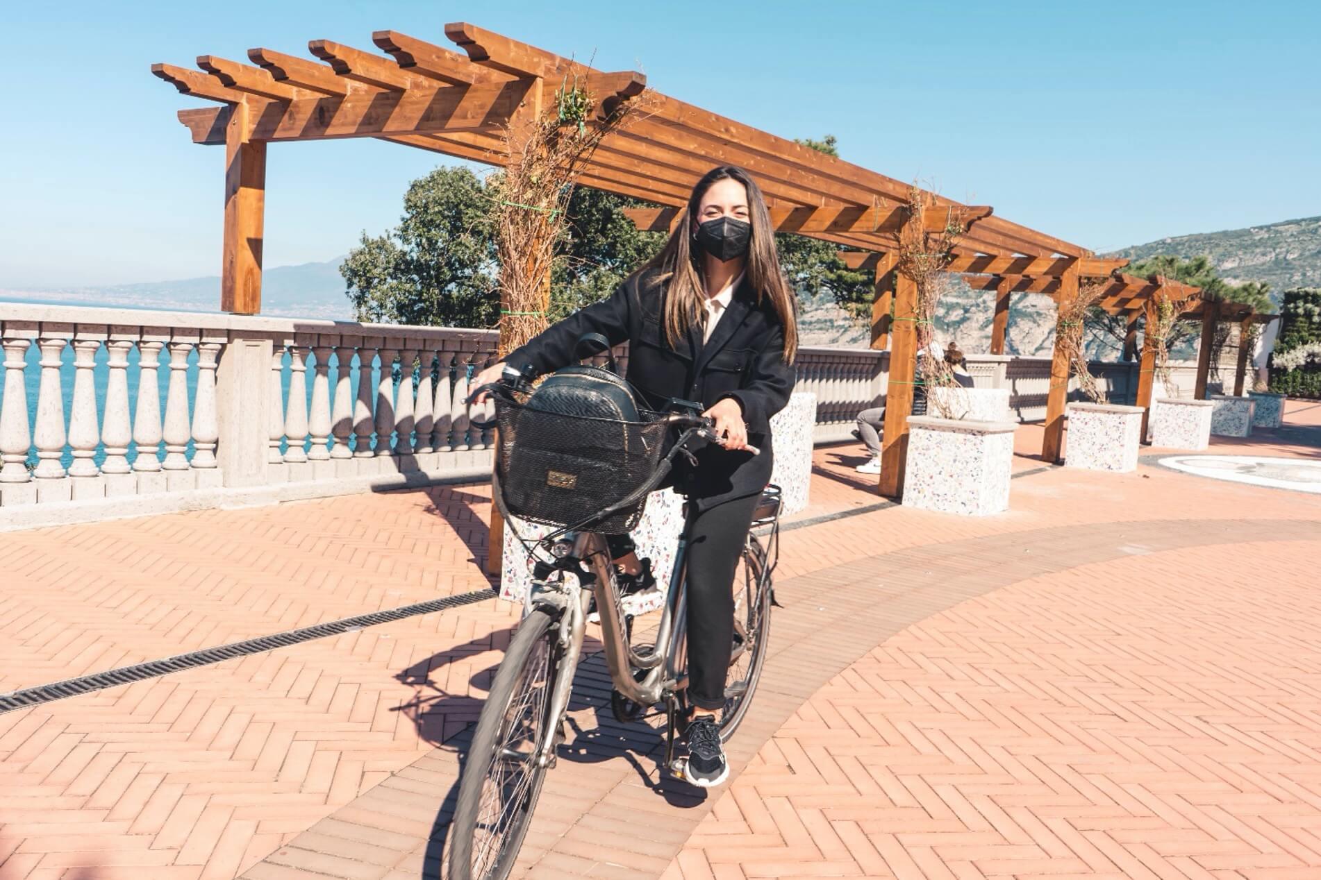 Visit the Amalfi Coast by bike or e-bike, possible itineraries