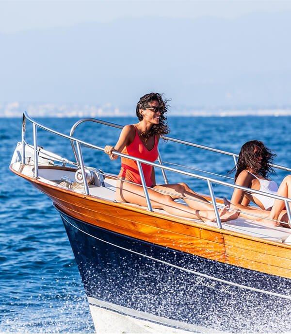 Private Boat Tour Sorrento Amalfi Capri